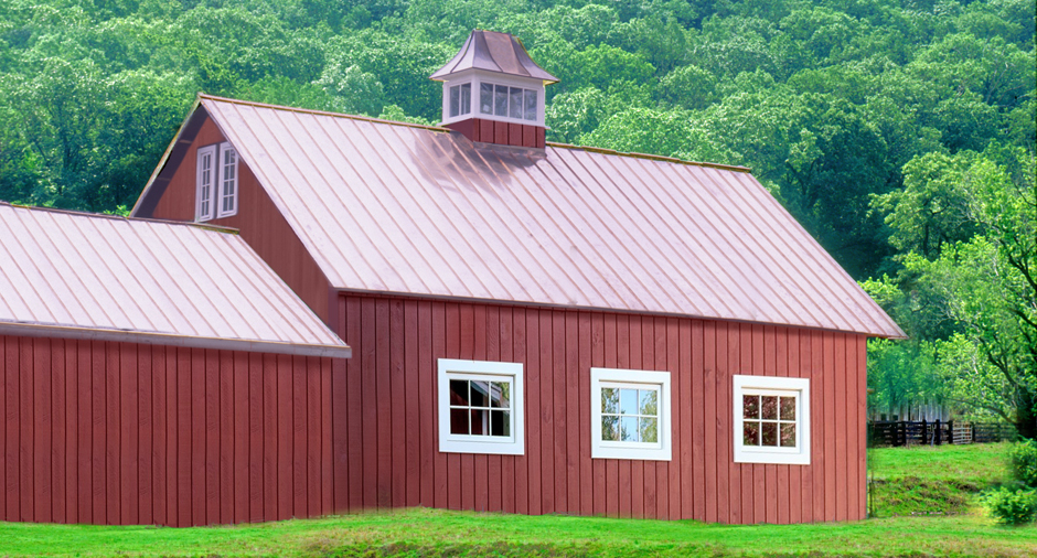 Copper_Roof on Old Garrison-on-Hudson Barn_by_Craftsman_Metal